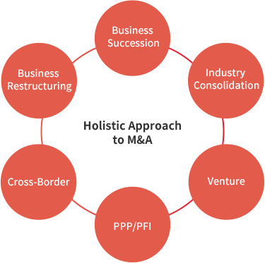 Holistic Approach to M&A image
